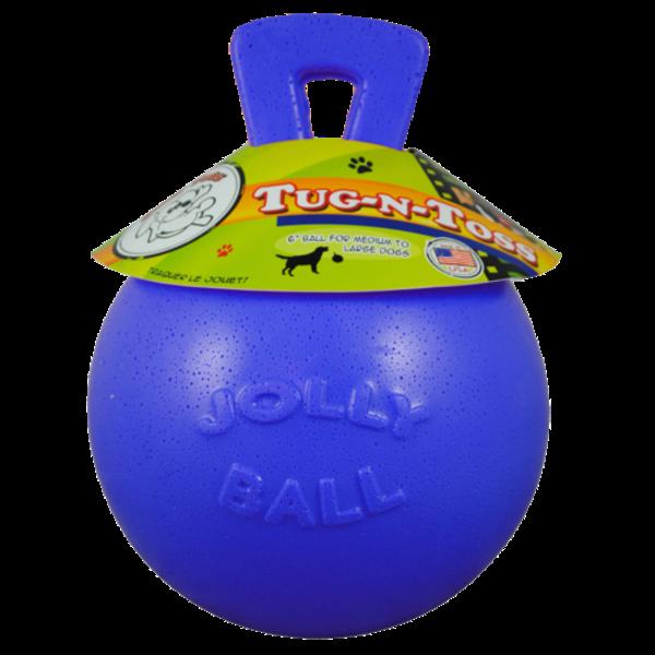 Jolly Pets Tug-n-Toss blauw