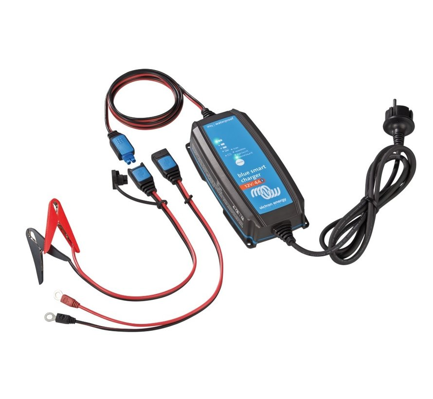 Victron Blue Smart IP65 Acculader 12/4 (1)