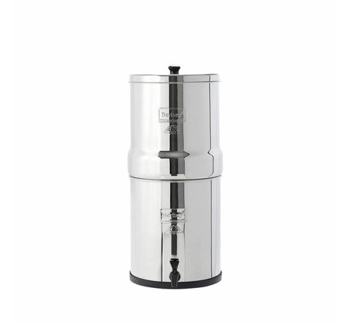 Berkey Waterfilters Berkey - Big Waterfilter  - Tot wel 26,5 liter per uur