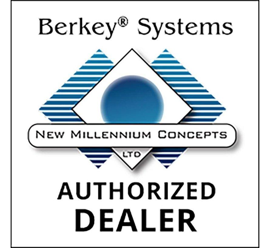 Berkey - Big Waterfilter  - Tot wel 26,5 liter per uur