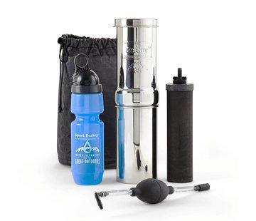 Berkey Waterfilters Berkey Go Kit  Waterfilter - Voor Op Reis - 3,8 Liter per uur