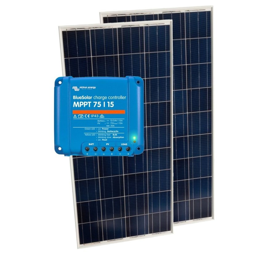 Solar pakket 2x 110W