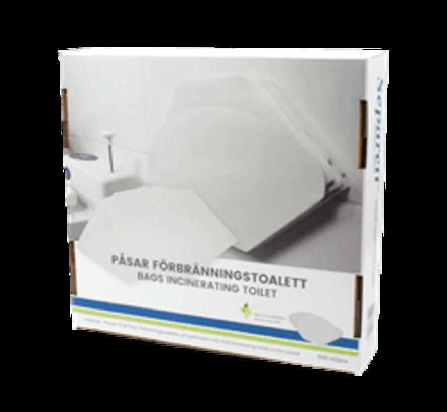 Toilet zakken Cindi - 500 stuks