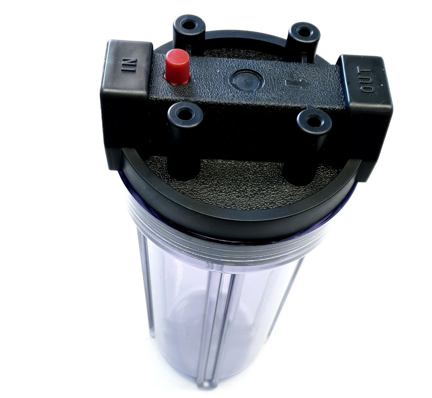 AquaPro 10'' Waterfilterbehuizing - Transparant