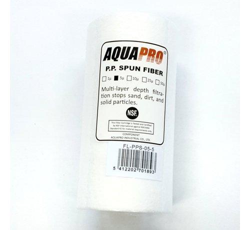 Aquapro AquaPro Sediment Waterfilter - 5 Micron -5''