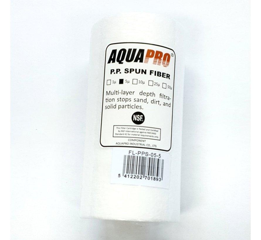 AquaPro Sediment Waterfilter - 5 Micron -5''
