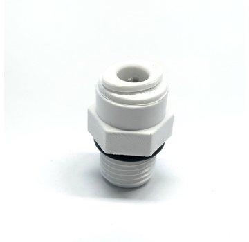 Aquapro Rechte Filter Verbindstuk 1/4 x 1/4
