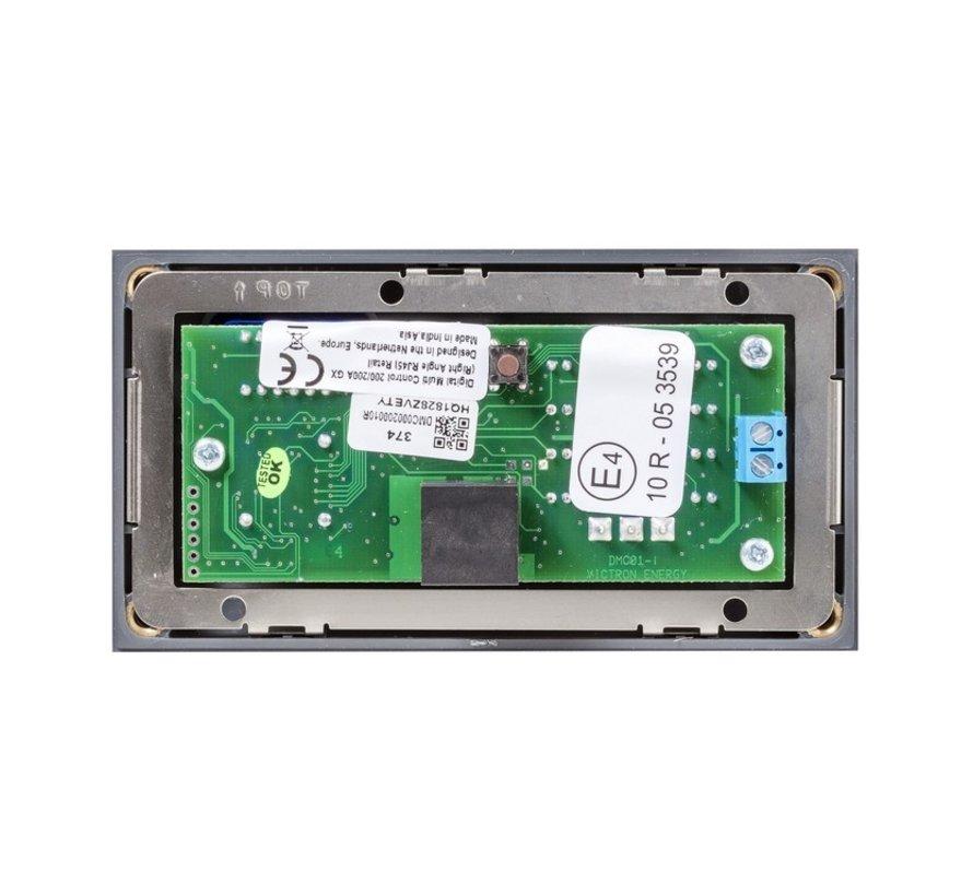 Victron Digital Multi Control 200/200A GX (90º)