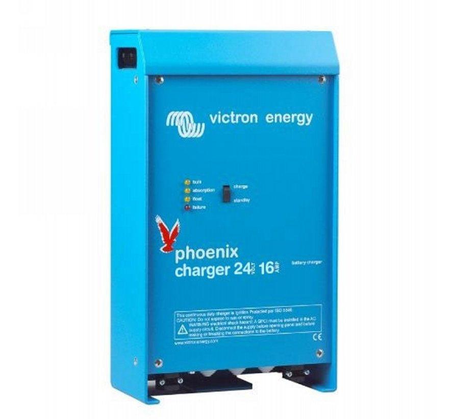 Victron Phoenix lader 24/16 (2+1) 90-265V AC