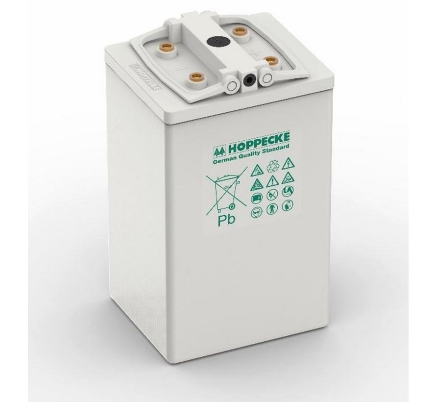 Hoppecke AGM-Ess accu VR M 2V/620Ah + kabel