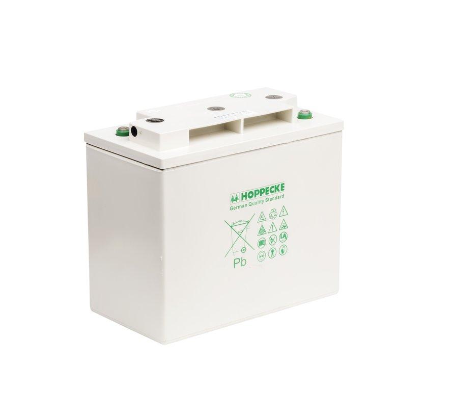 Hoppecke AGM-Ess accu VR M 6V/250Ah + kabel