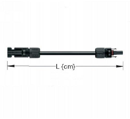 TopSolar TopSolar kabel 4mm² 10m MC4 male/female