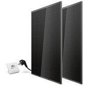 Totle Plug and play zonnepanelen met stekker - 2 panelen - 600Wp