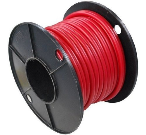 Top Systems Accukabel rood 25mm² rol 25 meter