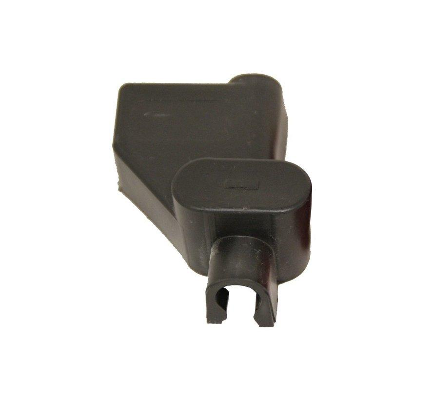 Accuklem isolatiekap zwart (-) voor enkele kabel