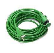 Defa DEFA kabel groen 10 meter