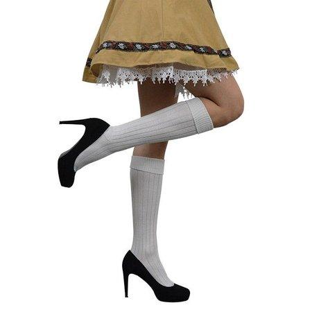 Oktoberfest sokken wit