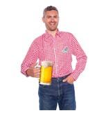 Oktoberfest blouse rood