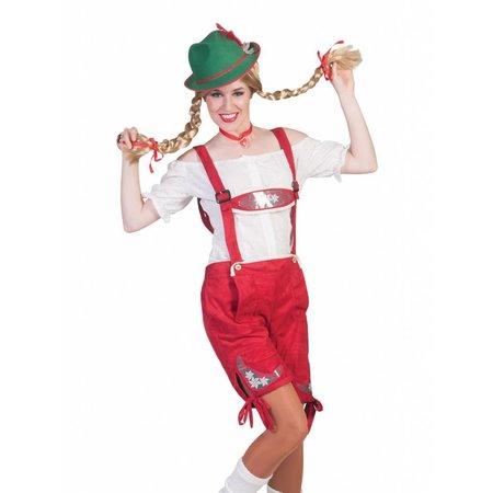 Rode Lederhose Helga