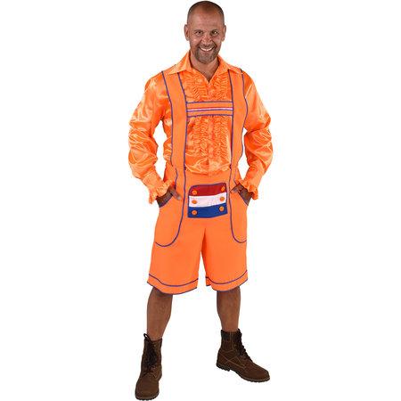Tirolerbroek Oranje Holland