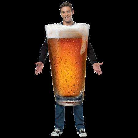 Bierglas kostuum