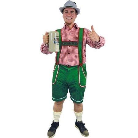 Tiroler broek groen Alexander