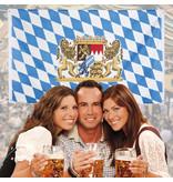Vlag Oktoberfest Beieren - 90 x 150 cm