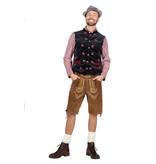 Fluweel Oktoberfest vest man