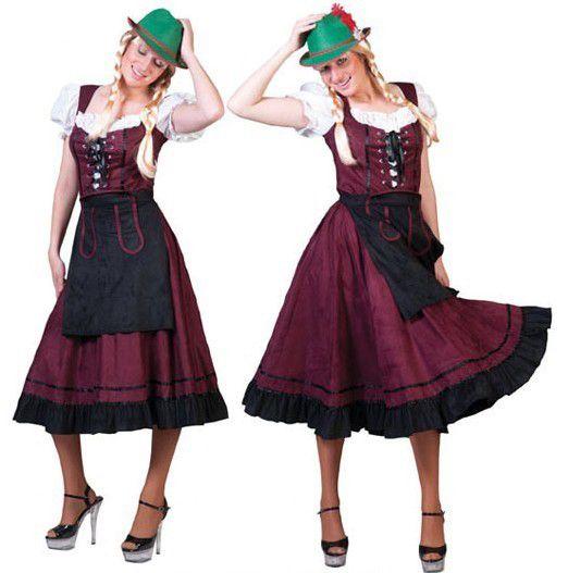 a9873e9d03829e Tiroler Jurk Lady Lang