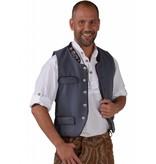Tiroler Trachten Gilet grijs elite