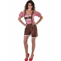 Tiroler lederhose dame luxe
