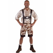 Tirolerbroek camouflage