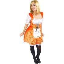 Serveerster kostuum Oranje