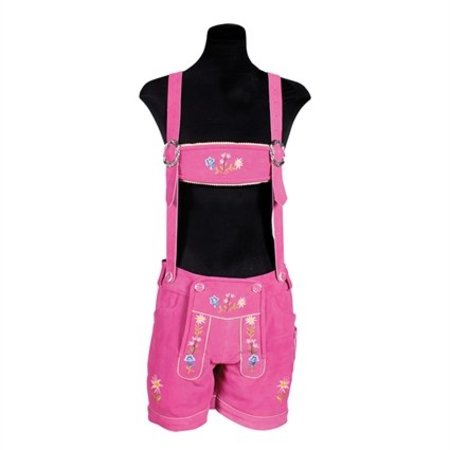 Tiroler damesbroek Paula pink elite
