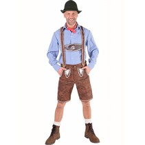 Tiroler broek bruin Jurgen