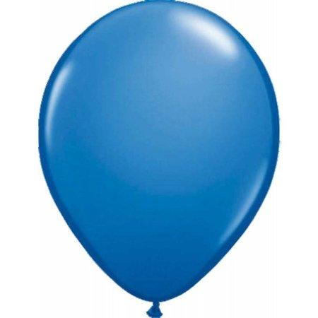 Blauwe ballonnen donkerblauw 30cm 10 stuks