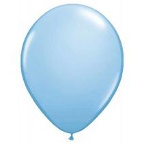 Lichtblauwe Metallic Ballonnen 10 stuks