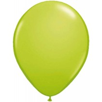 Appelgroene Metallic Ballonnen 10 stuks
