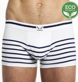 Bluebuck WHITE TRUNK NAVY STRIPES