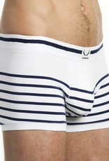 Bluebuck TR-NSWB white trunk navy stripes