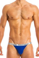 Modus Vivendi 09811 EGGS TANGA BRIEF - BLAUW