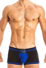 Modus Vivendi 16821 FETISH LINE - Bottomless Boxer - AZUL