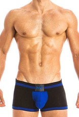 Modus Vivendi 16821 FETISH LINE - Bottomless Boxer - BLUE