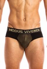 Modus Vivendi 20814 FESTIVE LINE - Classic Brief - GOLD