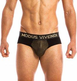 Modus Vivendi FESTIVE LINE - Classic Brief - GOUD