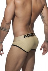 Addicted AD668C20 GOLD MESH BRIEF