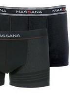 Massana UP27346019 Pack 2 BoxerZwart