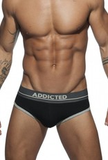 Addicted AD727C10 Curve Brief Zwart