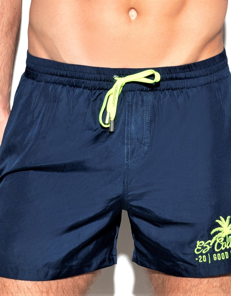ES Collection 1922C09  -Basic boardshort Blue