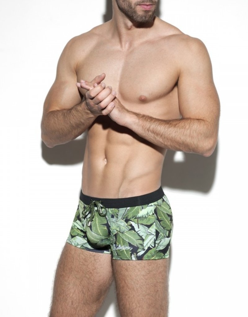 ES Collection 1907 C10 Leaves Swim Boxer